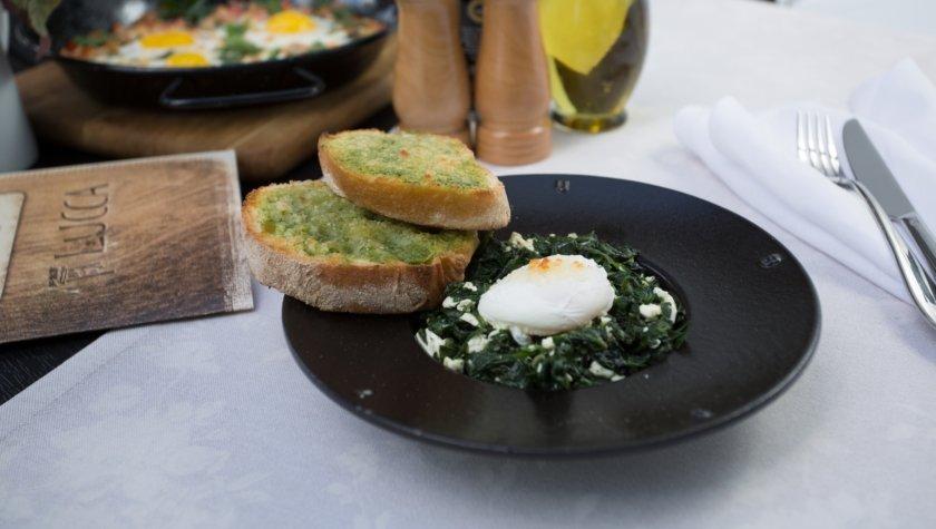 Яйцо по-флорентински (230 г) – 54 грн