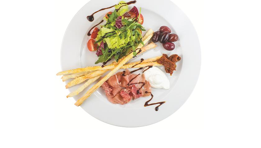 Итальянский завтрак – 95 грн (подается с кофе американо или эспрессо на выбор)