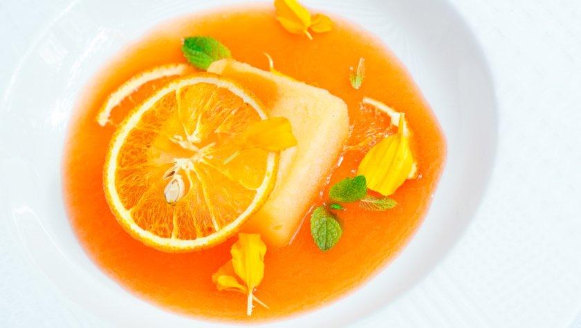 Piccolino. Апельсиновий сорбет з аперолем