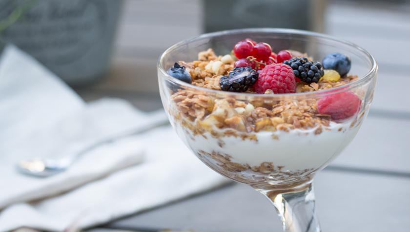 Йогурт домашний с гранолой (250 г) – 48 грн