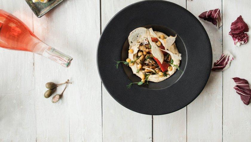 Хумус с мидиями и пряным перцем – 89 грн