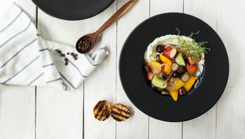 Микс овощей с греческой заправкой – 79 грн