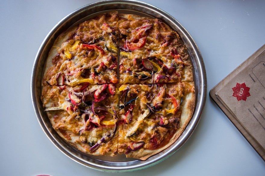 Индийская пицца