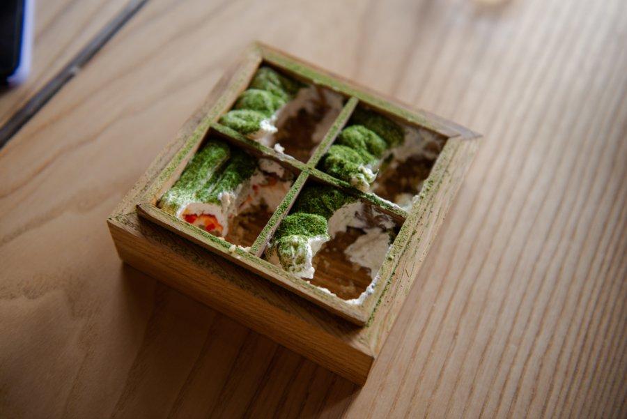 Десерт «Том Ям (мус із маскарпоне та класичними смаками Том Ям)